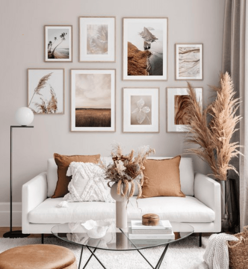 How to Make a Gallery Wall for Beginners poster store posters prints ideas inspo faiza inam 3