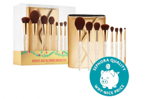 Bright and Beaming 8 Piece Brush Set Sephora collection insiders sale holiday 2020