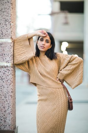 Monochrome Fall Looks To Edge Up Your Look Faiza Inam patterns colors look 5
