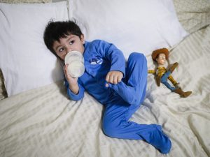 Lounging in the Coziest Loungewear Faiza Inam pajamas sweatshirt look Mikael .jpg