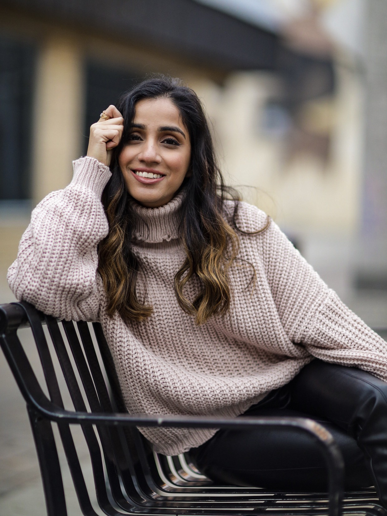 5 Winter Basics Everyone Should Have in Their Closet Faiza Inam cold weater basics must have turtleneck sweater 8