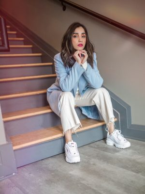 How I Style Sneakers in Winter Faiza Inam 1