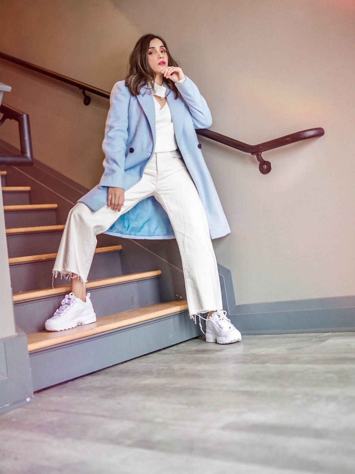 How I Style Sneakers in Winter Faiza Inam 2