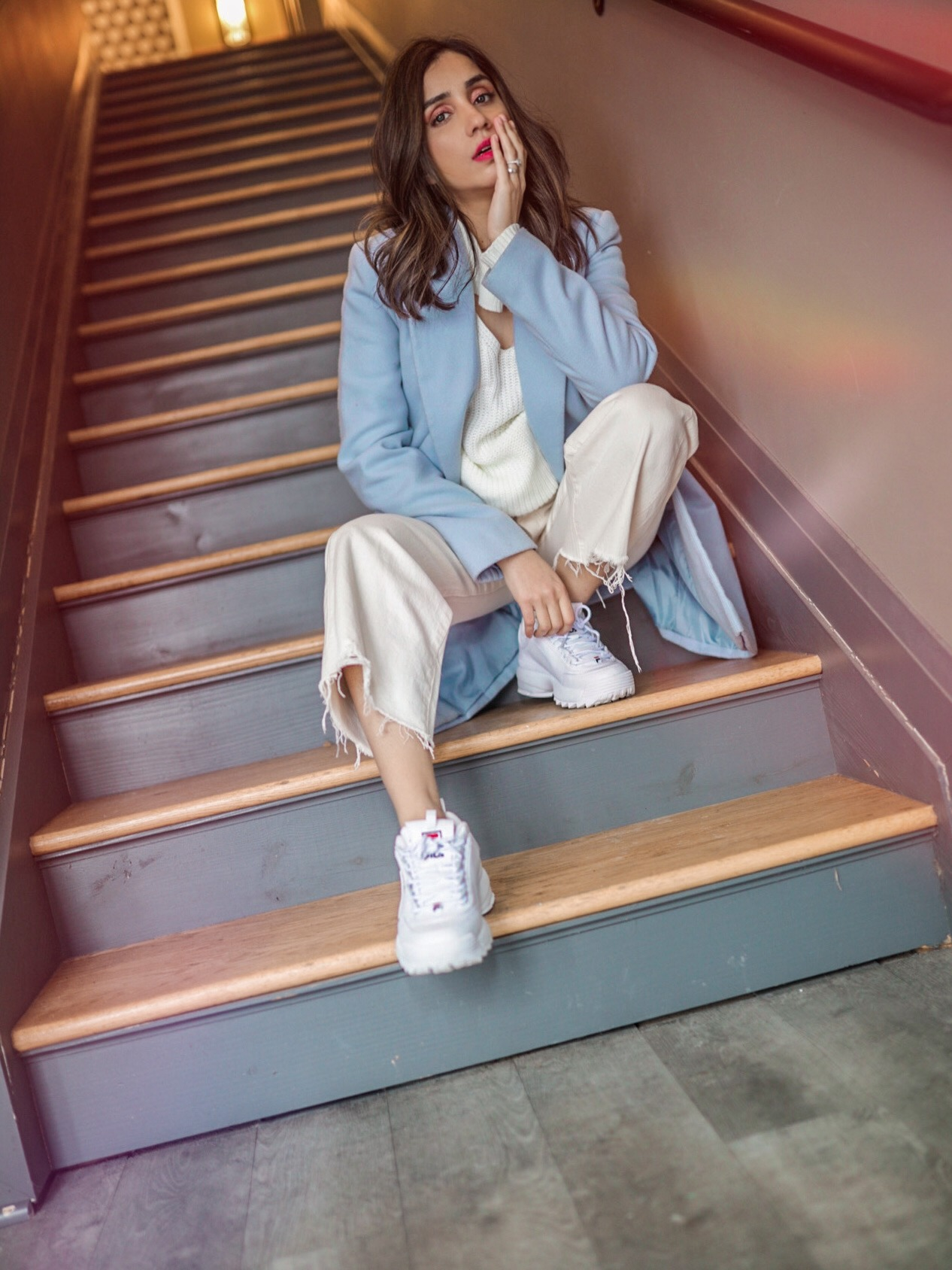 How I Style Sneakers in Winter Faiza Inam 3