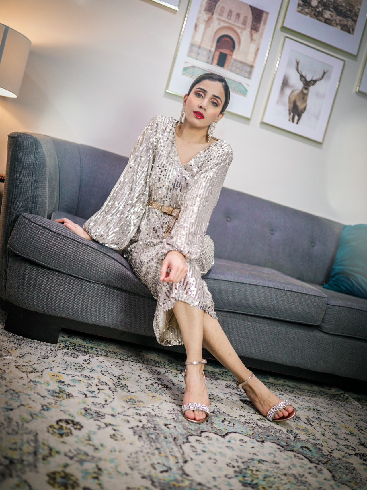 Your Valentine Day Outfit Ideas Guide Outfit idea V day romantic cozy date Faiza Inam 3