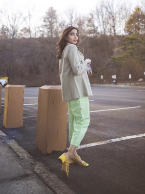 Style Secrets Every Classy Woman Should Know Monchrome look mint green spring colors 4