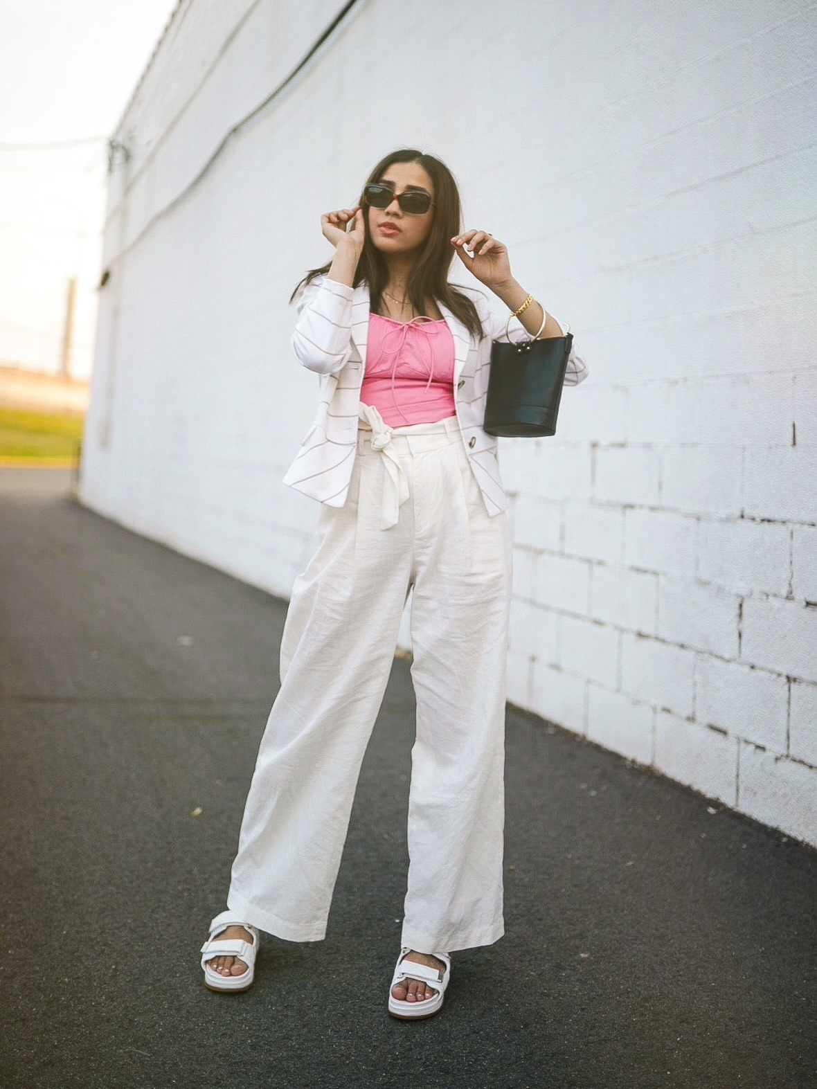 Under $50 Trends That Won't Disappoint This Summer summer linen trousers Faiza Inam 2