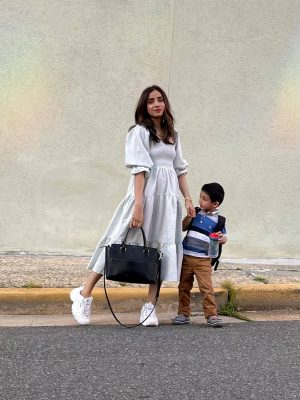 How I Rock a Cool Mom Look in Summer mama look outfit comfortable comfy 3